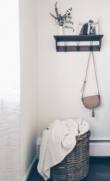 Blanket baskets are always a good idea.